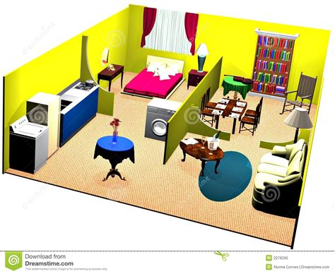 rooms in a house cutaway house show rooms royalty free stock photo image