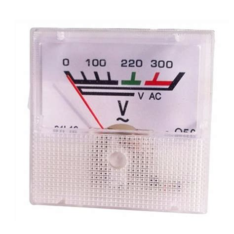 Voltmeter Ac Analog analog voltmeter 0 300v ac nerdshed