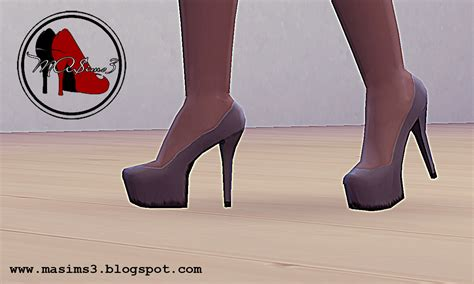 sims 4 platform heels my sims 4 blog high heel platform pumps by mrantonieddu