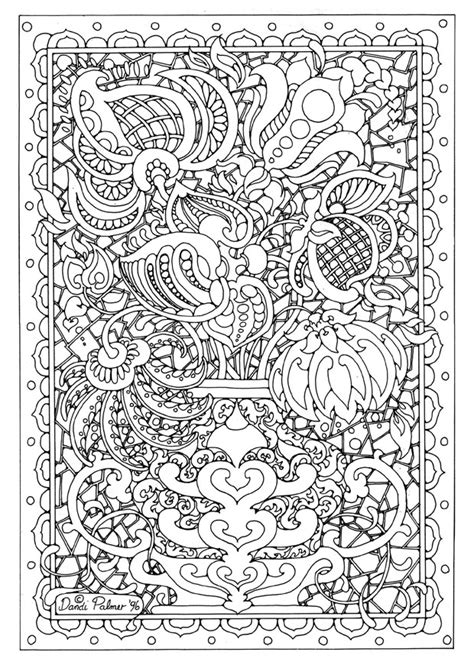 Detailed Coloring Pages detailed flower coloring pages flower coloring page
