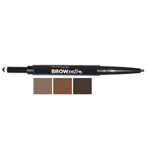 Maybelline Eyebrow Powder brow satin smoothing duo brow pencil filling powder