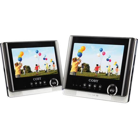 format most dvd players play coby tfdvd7752 7 quot dual screen portable tablet dvd tfdvd7752