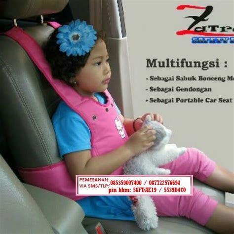 Sabuk Bonceng Motor Untuk Anak Usia 1 5 12 Tahun Zatra sabuk bonceng motor anak zatra dengan penahan pantat kepala multifungsi agen aneka play pad