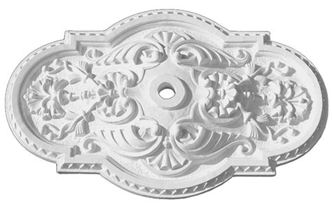 Rectangular Ceiling Medallions by Vintage Hardware Lighting Authentic Plaster Ceiling