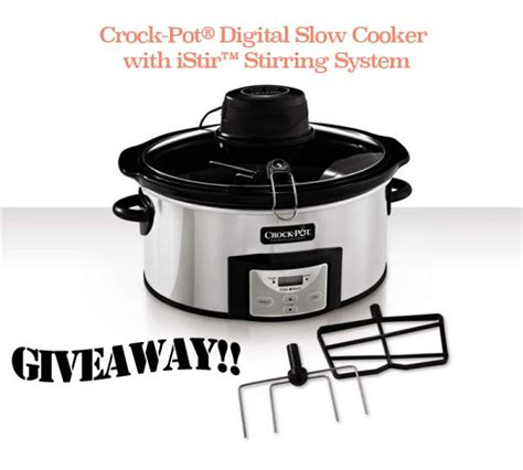 Crock Pot Cooker Giveaway And The Winners Are by Istir Crock Pot Giveaway Closed Recipe Granola