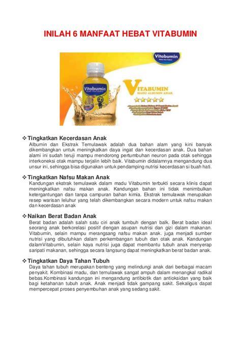 Original Vitabumin Madu Albumin Penambah Nafsu Makan vitabumin madu albumin pertama di indonesia meningkatkan nafsu maka