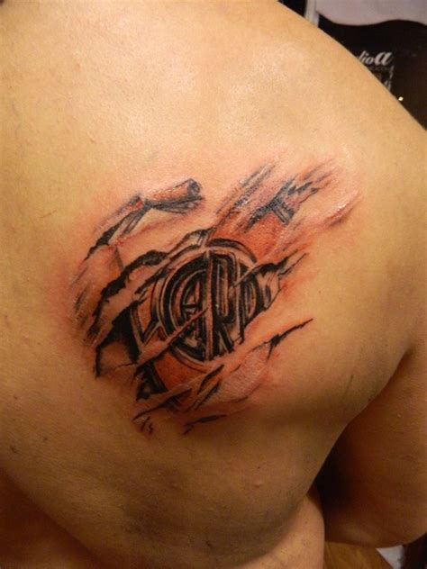club atletico river plate tattoo by facundo pereyra on