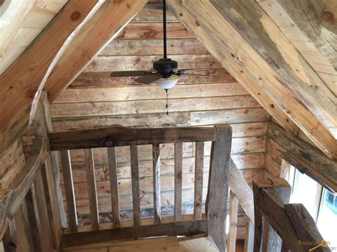 Log Cabin Loft by This Tiny Log Cabin Just Needs A Land To Sit On