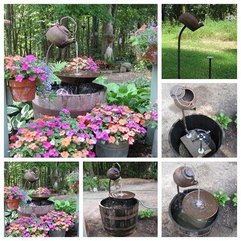 wonderful diy amazing teapot fountain
