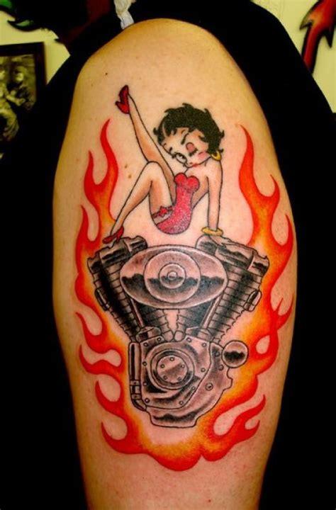 Kim Kardashian Betty Boop Tattoo Betty Boop Tattoos