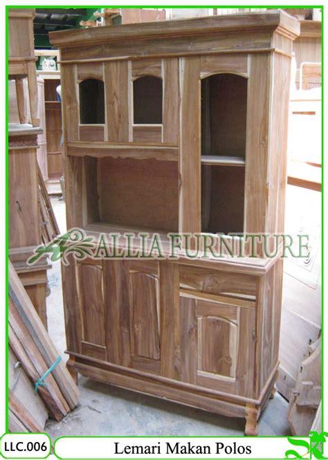 Ruang Dapur Furniture Proyek Nego Harga Bahan Kayu Jati lemari makan klender model pintu polos allia furniture