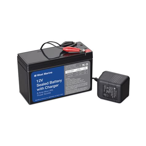 west marine battery chargers west marine universal 174 battery and charger kit 12v