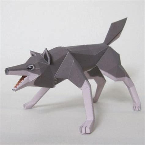 Wolf Papercraft - papercraft wolf