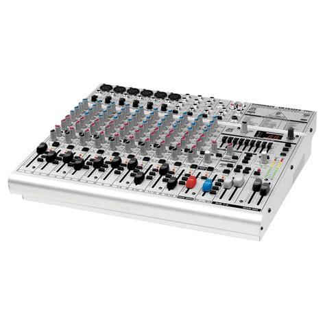 Mixer Behringer Ub1832fx Pro behringer eurorack ub1832fx pro mixer at gear4music