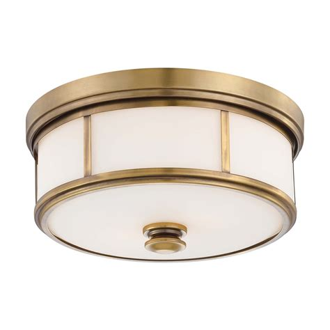 Minka Lavery 4365 2 Light Harvard Court Flush Mount Flushmount Ceiling Lights