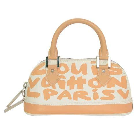 Sale Top White Lv 438 louis vuitton and white graffiti mini alma bag