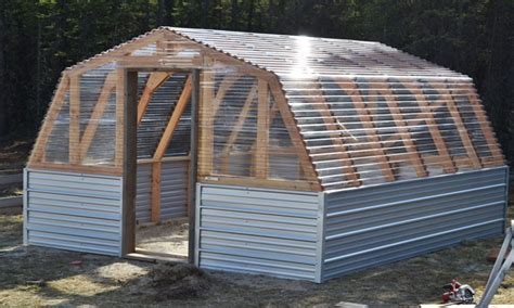 Do It Yourself Greenhouse Plans Barn Greenhouse Plans