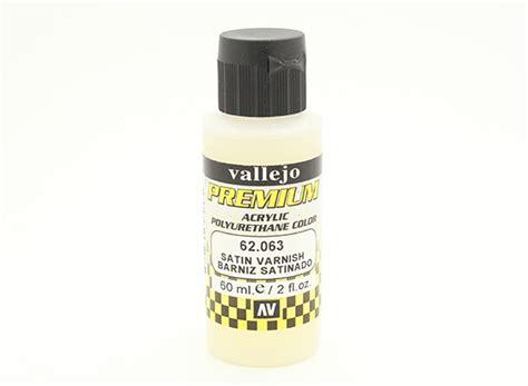 acrylic paint varnish vallejo premium color acrylic varnish satin 60ml
