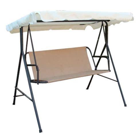 outdoor patio swing replacement parts beige outdoor patio swing canopy replacement 6 25 foot 29