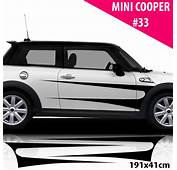 Car Side Stripes For Mini Cooper Decals Stickers