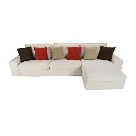 cream leather l shaped sofa 67 off l shaped cream leather sectional sofa sofas