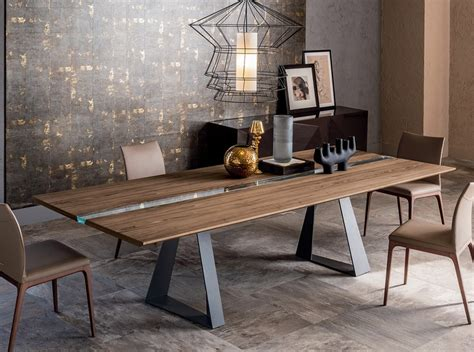 italian dining tables modern river dining table by cattelan italia dining tables dining