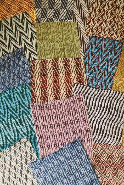 fabric weaves machine knitting designs
