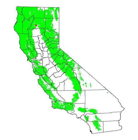 california map latitude longitude california bird maps