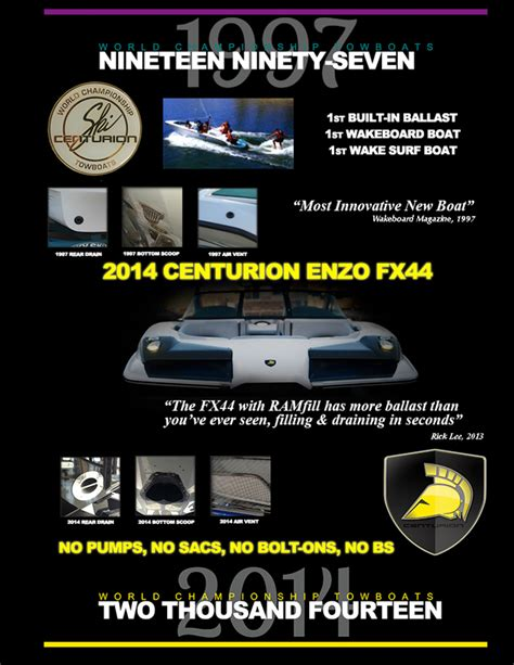 centurion boat dealers nc announcement 2014 centurion enzo fx44 the word is out