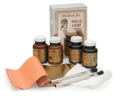 gold leafing paint paint gold leafing kit du all drafting supply