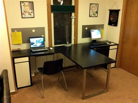 U Shaped Desk Ikea Brubaker Desk Ideas U Shaped Desk Ikea