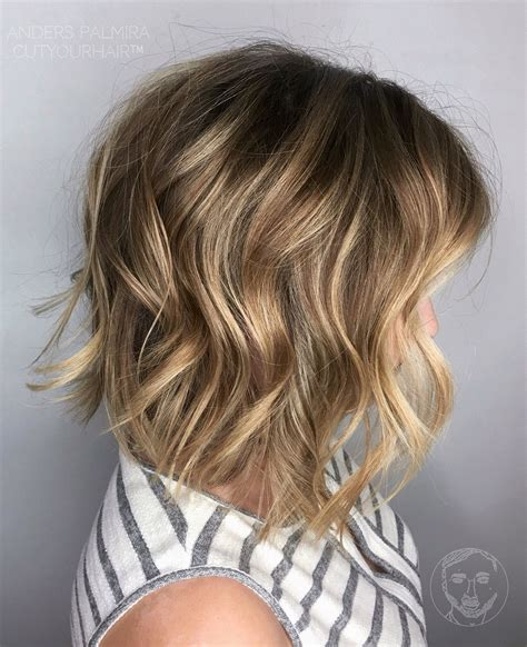beach waves for round face aveda wavy long blonde bob short hair beach wave medium