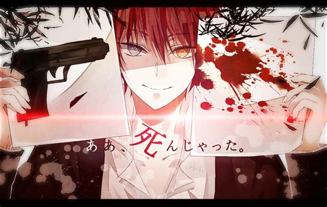 wallpaper anime assassination classroom karma akabane wallpaper and background 1280x813 id 610236