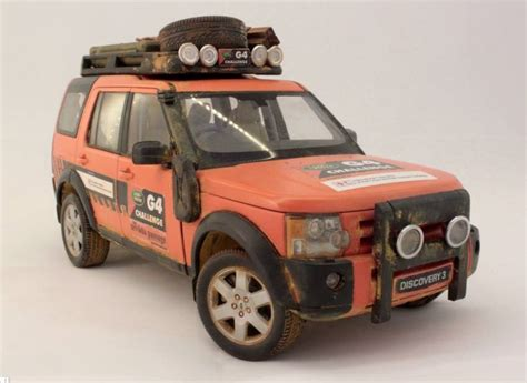 Topi Land Rover G4 Challenge land rover discovery g4 challenge weathered diecast 1 18 by barlas pehlivan barlas