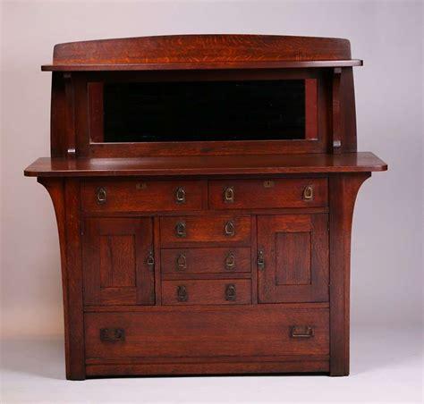Limbert Sideboard limbert sideboard with length corbels and mirror california historical design