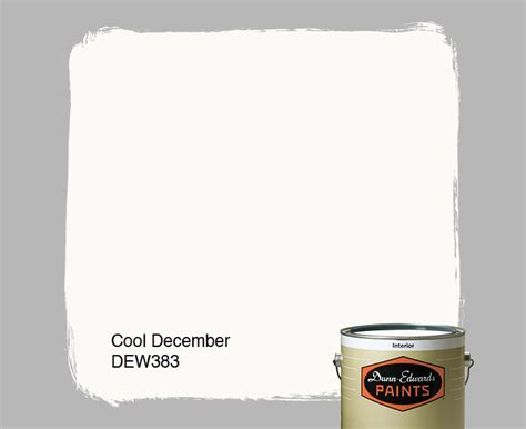 cool december dew383 dunn edwards paints