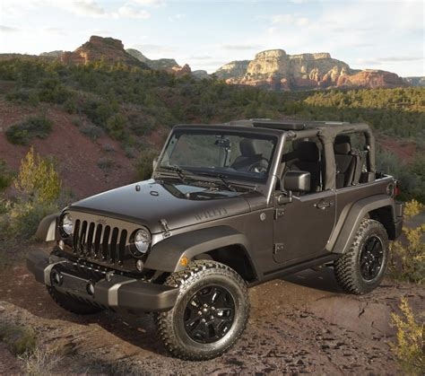 Jeep Willys Edition 2014 Jeep Wrangler Willys Wheeler Edition Goes Back To The