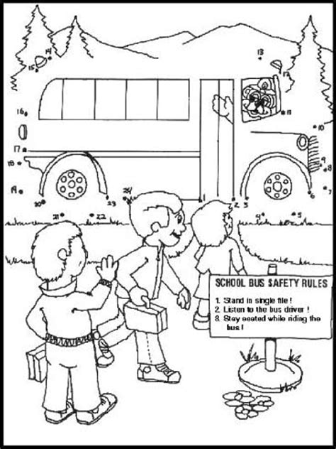 printable school bus dot to dot dot to dot page print your dot to dot school bus page