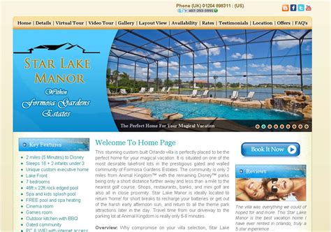 vacation home website design house style ideas