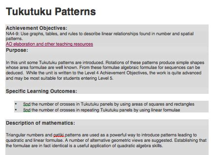 pattern practice meaning peara s blog 2015 updated version of our tukutuku patterns