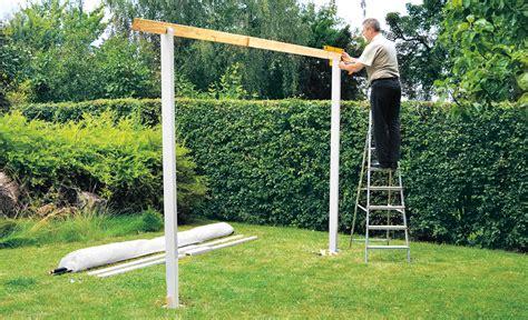 pavillon selber bauen metall pavillon selber bauen gartenhaus carport bild 9