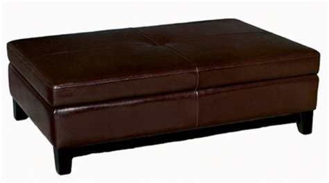leather cocktail ottoman with storage full leather cocktail storage ottoman espresso brown