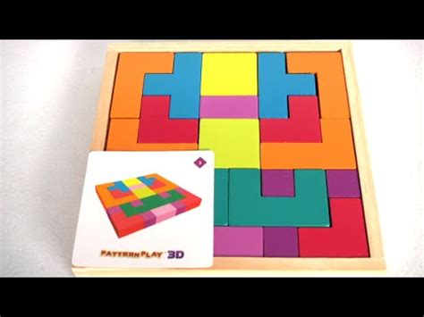 Pattern Play Youtube   pattern play 3d from mindware youtube