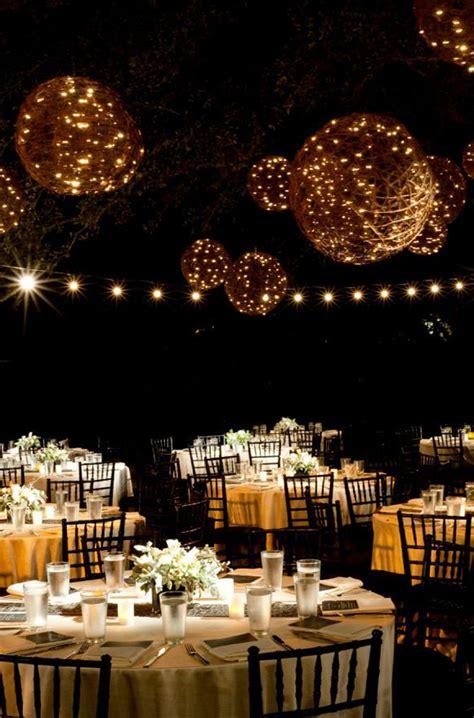beautiful wedding lanterns  hanging  lights