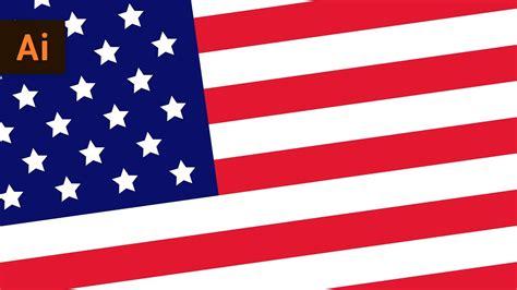vector flag tutorial how to make a vector american flag illustrator tutorial