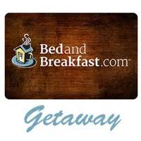 bed and breakfast gift card mini mailbox