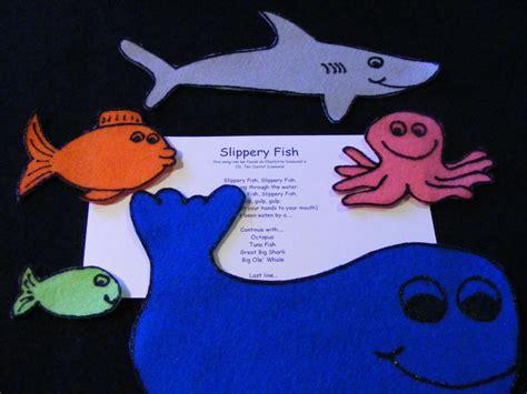 felt storyboard templates felt flannel board story quot slippery fish quot preschool circle
