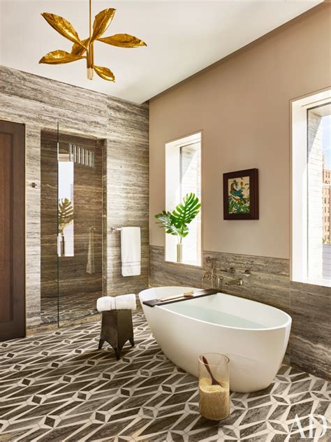 architectural digest bathrooms bathroom by dufner heighes by architectural digest ad designfile home decorating