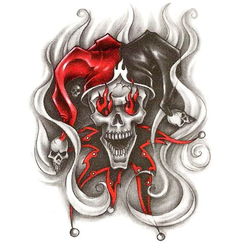evil tattoo flash evil clown flash search slick