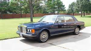 1988 Rolls Royce 1988 Rolls Royce Silver Spur